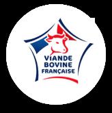 logo viande de bovine volaille française